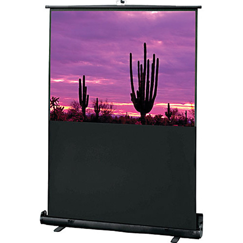"Draper 230004 Road Warrior Portable Projection Screen (48 x 64"")"