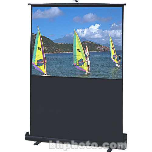 "Draper 230114 Traveller Portable Front Projection Screen (48x64"")"