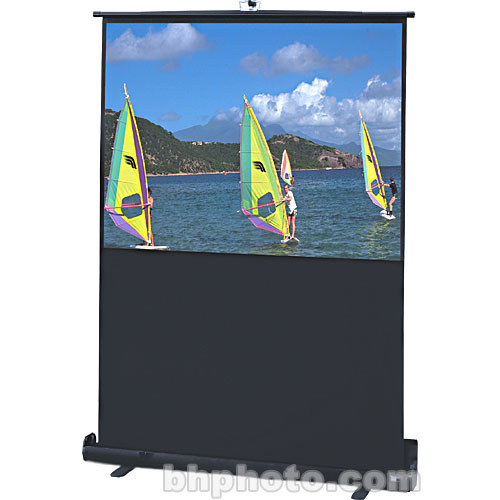 """Draper 230124 Traveller Portable Front Projection Screen (36x64"""")"""