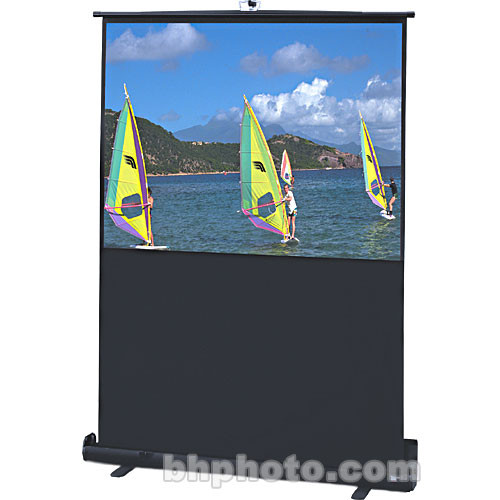 "Draper 230125 Traveller Portable Front Projection Screen (45x80"")"