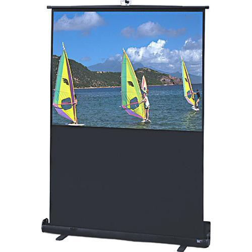 "Draper 230143 Traveller Portable Front Projection Screen (40x64"")"