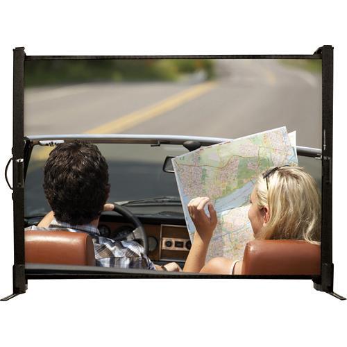 "Draper 230300  Microscreen Portable Front Projection Screen (24 x 32"")"