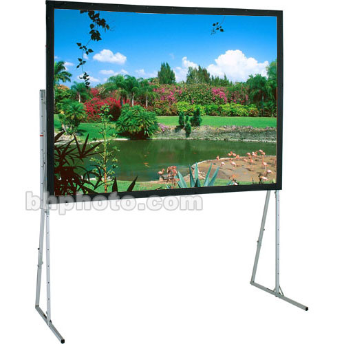 Draper 241025 Ultimate Folding Projection Screen with Heavy Duty Legs (9 x 9')