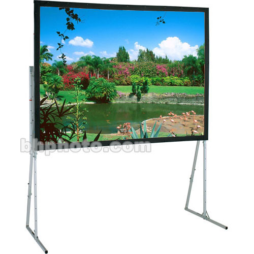 "Draper 241037 Ultimate Folding Projection Screen with Heavy Duty Legs (63.5 x 114.5"")"