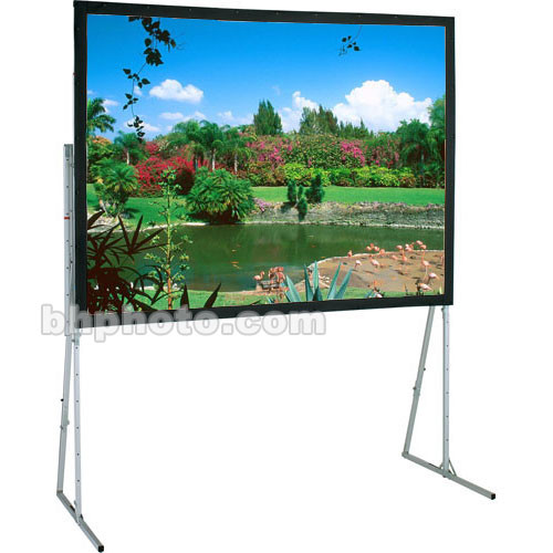 "Draper 241185 Ultimate Folding Projection Screen with Heavy Duty Legs (77.5 x 138.5"")"