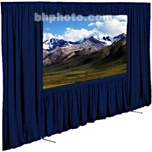 "Draper Dress Kit for Ultimate Folding Screen without Case - 62 x 108""- Navy"