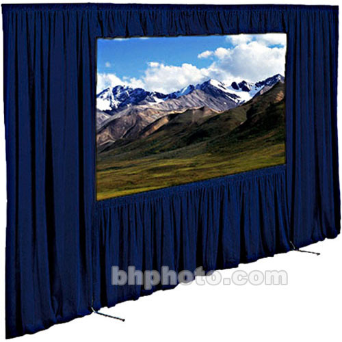 "Draper Dress Kit for Ultimate Folding Screen without Case - 91 x 139"" - Navy"