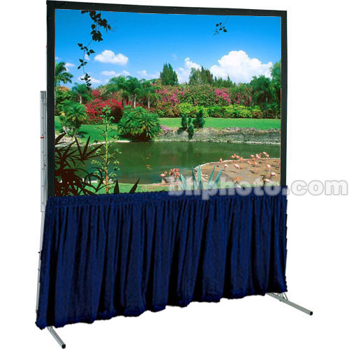 "Draper Dress Skirt for Ultimate Folding Projection Screen - 115x115"" -   Navy"
