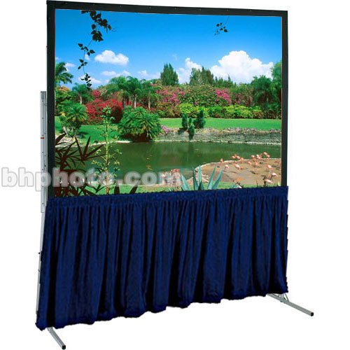"Draper Skirt for Ultimate 79x121"" Folding Projection Screen - Navy"