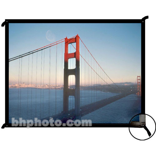 "Draper 250019 Cineperm Fixed Frame Projection Screen (122 x 164"")"