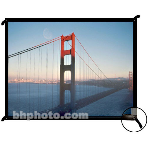 "Draper 250125 Cineperm Fixed Projection Screen (36 x 64"")"