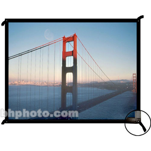 "Draper 250133 Cineperm Fixed Projection Screen (104 x 140"")"