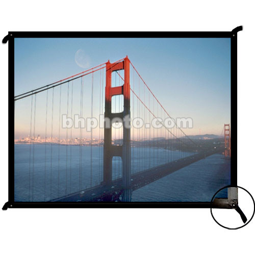 "Draper 251004 Cineperm Fixed Projection Screen (80 x 80"")"