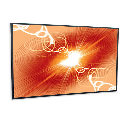 "Draper 251049 Cineperm Fixed Frame Projection Screen (58 x 136.25"")"