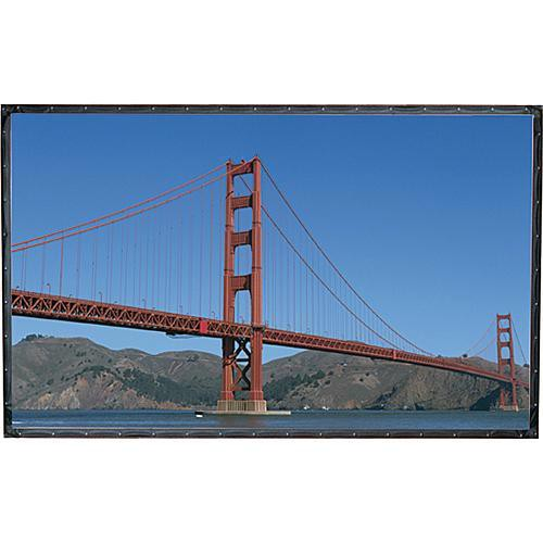 "Draper 251066 Cineperm Fixed Frame Projection Screen (72.5x116"")"