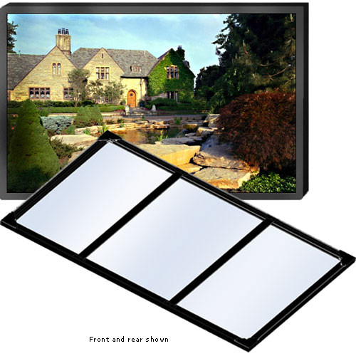 """Draper 252002 Clarion Fixed Frame Manual Projection Screen (60 x 60"""")"""