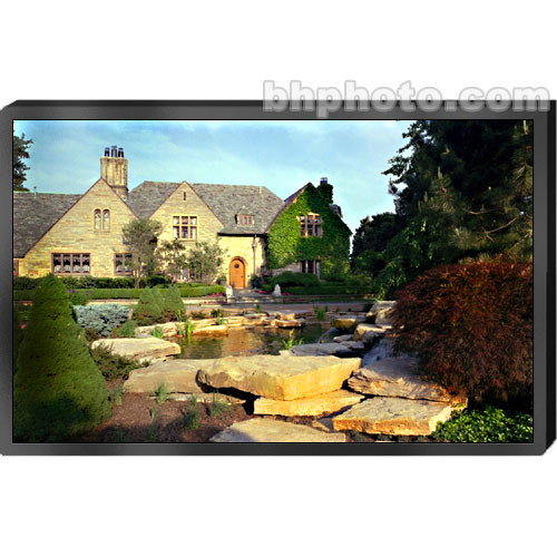 """Draper 252048 Clarion Fixed Frame Front Projection Screen (75.75x140"""")"""