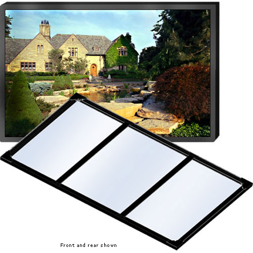 """Draper 252092 Clarion Fixed Frame Manual Projection Screen (84 x 84"""")"""