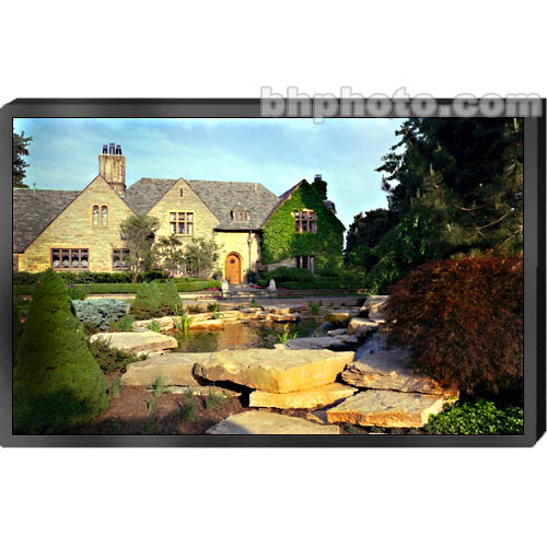 "Draper 252121 Clarion Fixed Frame Front Projection Screen (60x80"")"