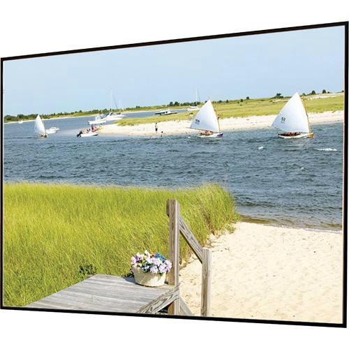 "Draper 252230 Clarion Fixed Frame Front Projection Screen (34x56.5"")"