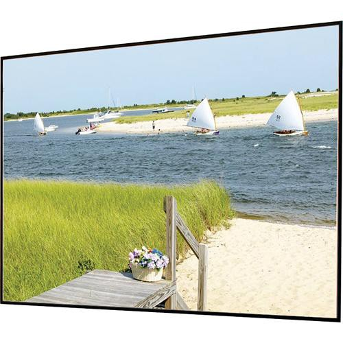 "Draper 252245 Clarion Fixed Frame Front Projection Screen (56x126"")"