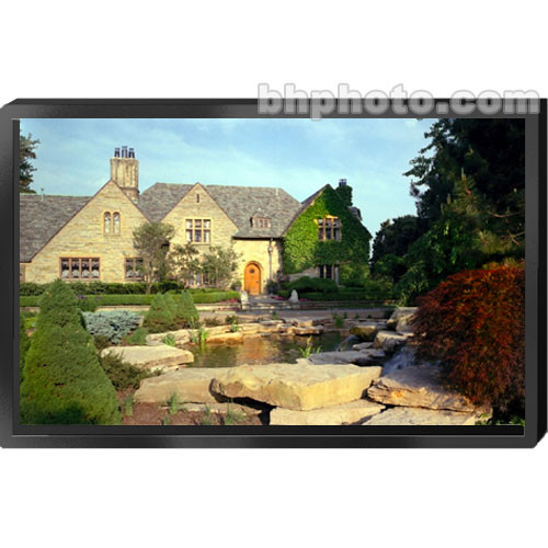 "Draper 253005 ShadowBox Clarion Fixed Projection Screen (96 x 96"")"