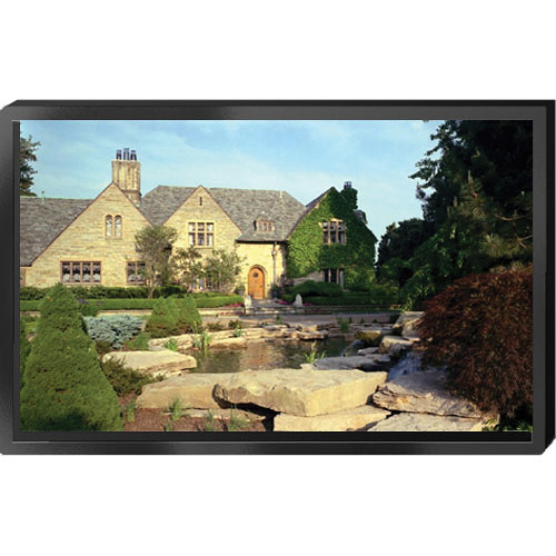 """Draper 253065LG ShadowBox Clarion Fixed Projection Screen (52 x 92"""")"""