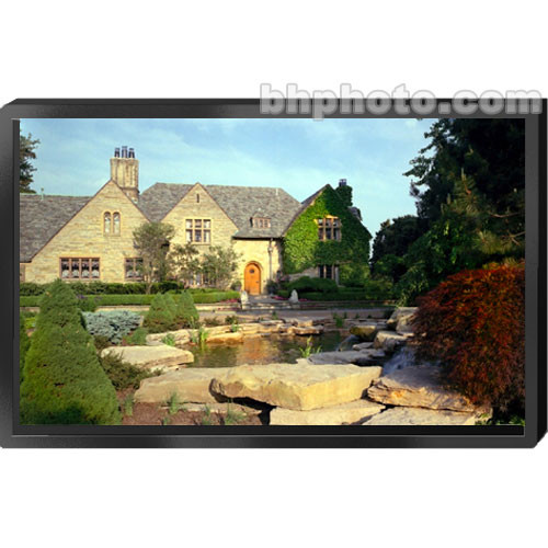 "Draper 253091 ShadowBox Clarion Fixed Projection Screen (80 x 140"")"