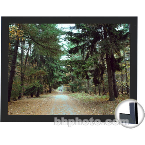 "Draper 253297 Onyx Fixed Frame Projection Screen (47 x 63"")"