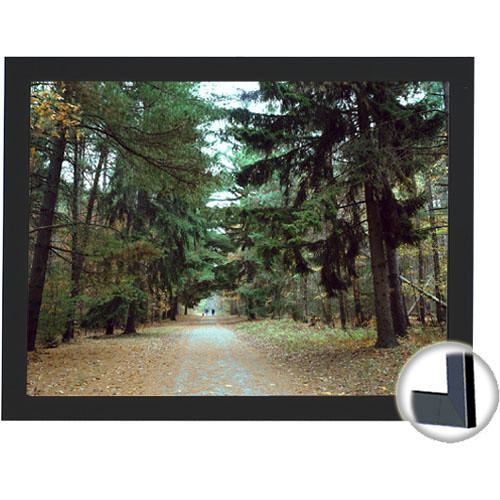 "Draper 253607 Onyx Fixed Frame Projection Screen (36 x 64"")"