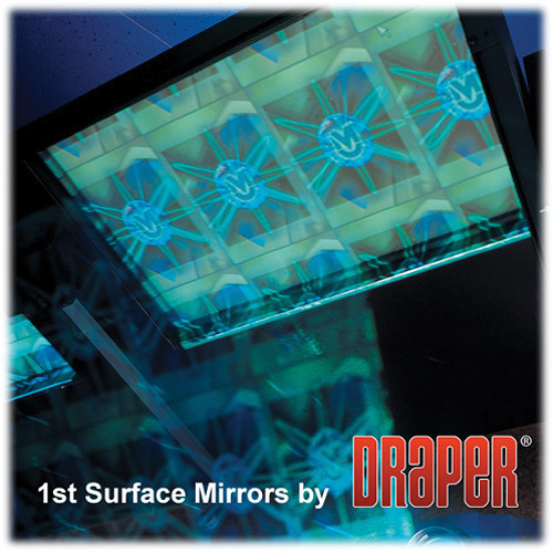 Draper 254023 First Surface Mirror with Frame