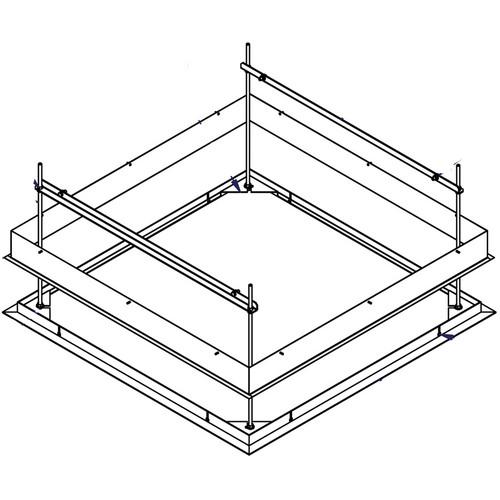 Draper 300264 SLX Ceiling Finish Kit (White)