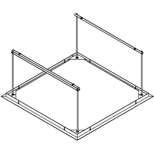 Draper 300265 SLX Ceiling Closure Panel (White)