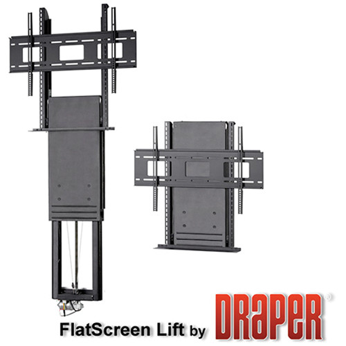 "Draper FSL-F-42 Flat-screen Lift (Up to 42"" Displays)"
