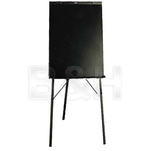 Draper Black Epoxy Powdercoat Paper Pad Easel, DR450