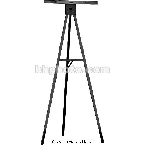 Draper Gold Anodized 5' Non-Folding Aluminum Poster Easel, DR200
