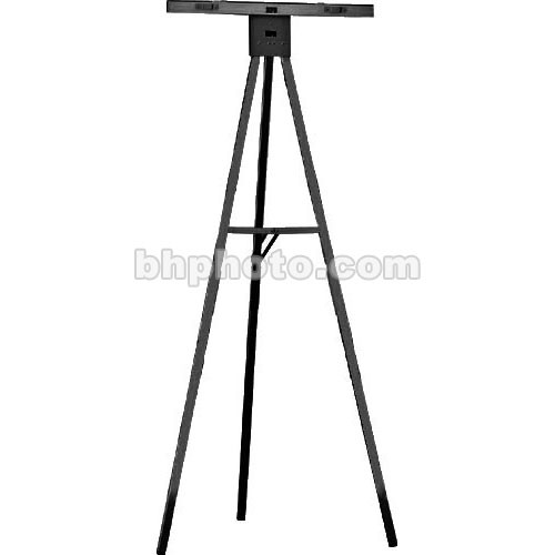 Draper Black Powdercoat 5' Non-Folding Aluminum Poster Easel, DR205
