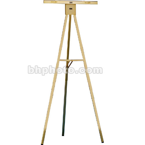 Draper Gold Anodized 6' Non-Folding Poster Easel, DR220
