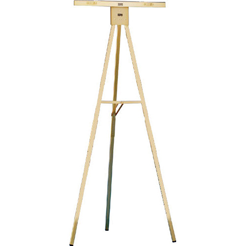 Draper Gold Anodized 6' Folding Poster Easel, DR250