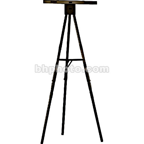 Draper Black Anodized 6' Folding Poster Easel, DR270