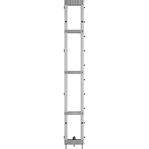 """Draper 383005 StageScreen Section ONLY (60 x 8"""", Silver)"""
