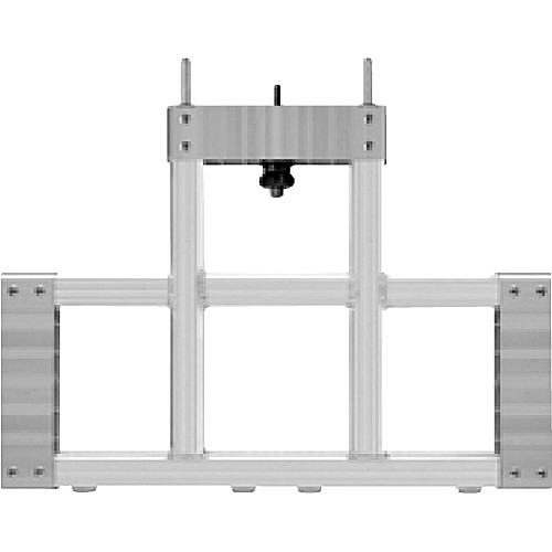"""Draper 383008 StageScreen T-Section (14.25 x 20.5"""", Silver)"""