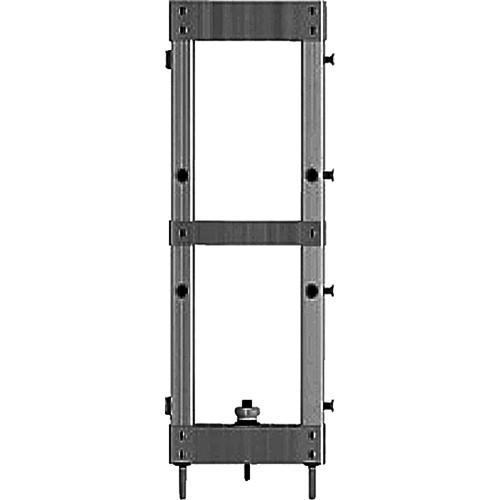 """Draper 383473 StageScreen Section ONLY (24 x 8"""", Black)"""