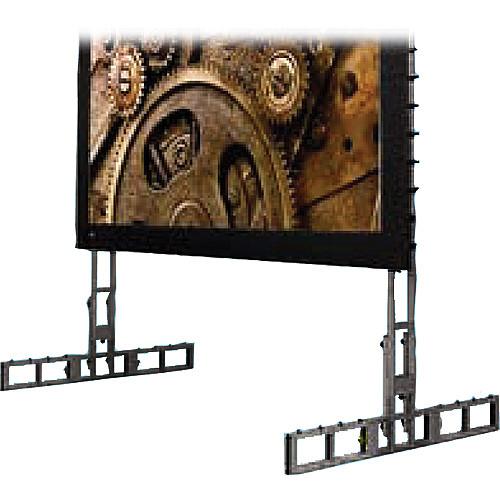 """Draper 383786 StageScreen Leg Kit B (182.25 x 68.5"""", Black)"""