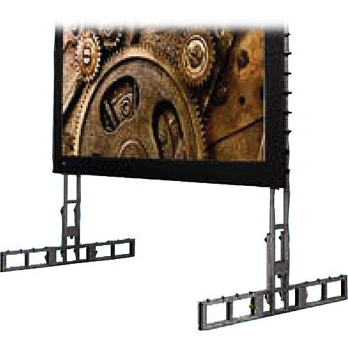 "Draper 383788 StageScreen Leg Kit D (302.25 x 92.5"", Black)"