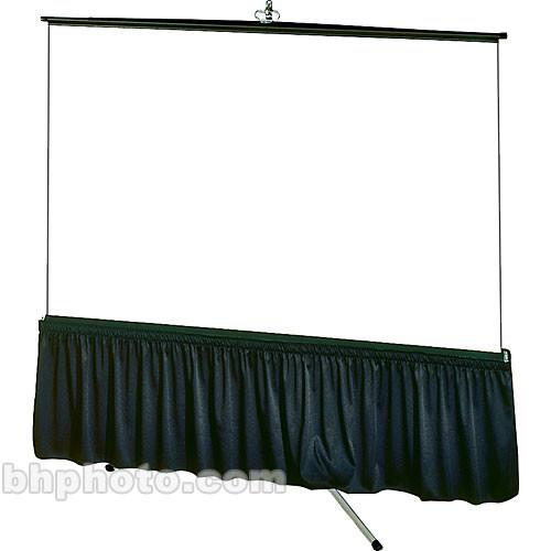 """Draper Skirt for Tripod Screen - 38 x 87"""" - Classic Twill"""