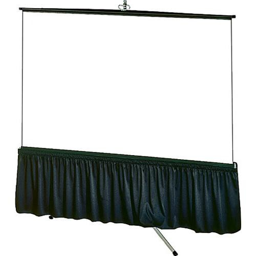 "Draper Skirt for Tripod Screen (38x99"", Black Vellite)"
