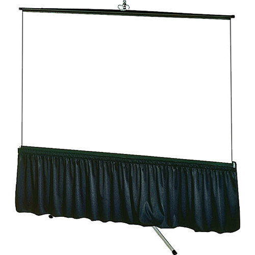 """Draper 80567 Tripod Skirt (70 x 70"""", Black)"""