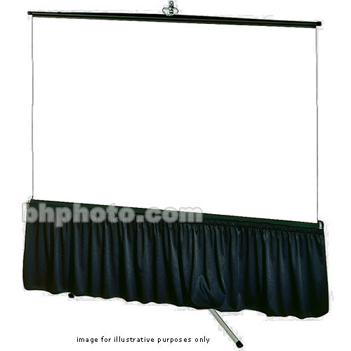 "Draper Skirt for Tripod Screen (33x99"", Poly-Knit)"
