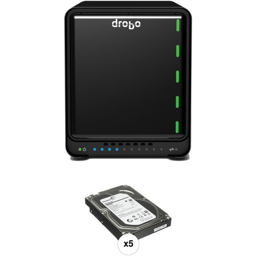 Drobo 15TB (5x3TB) Drobo 5D Kit